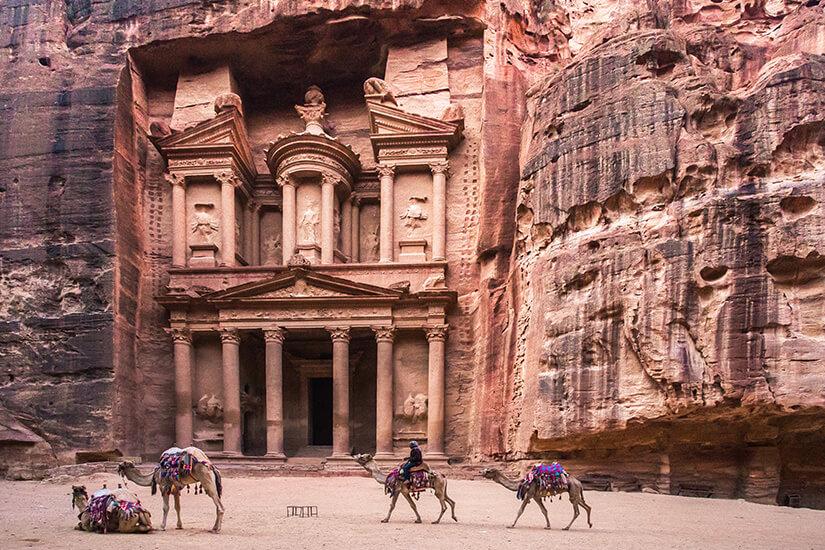 Weltkulturerbe Petra in Jordanien