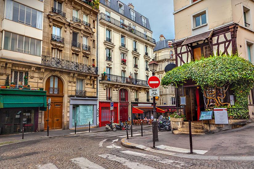 Künstlerviertel Montmartre
