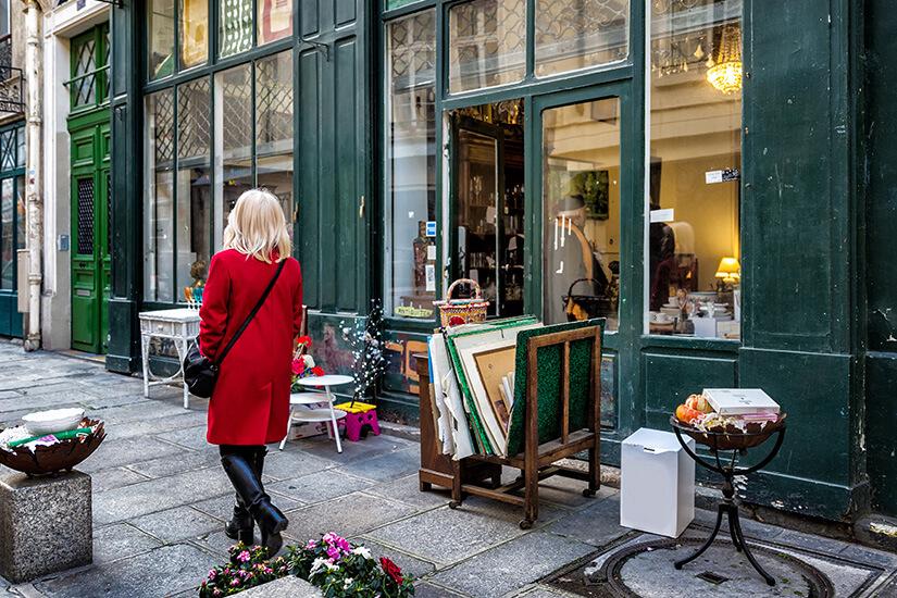 Shoppen in Paris