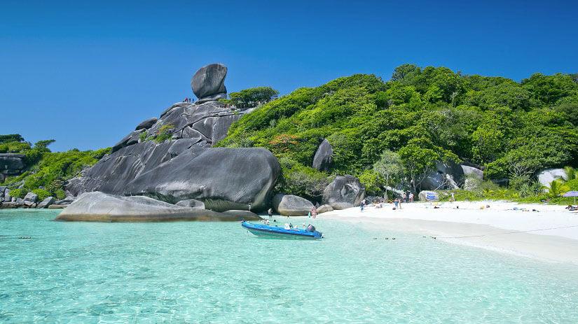 Flitterwochen Thailand