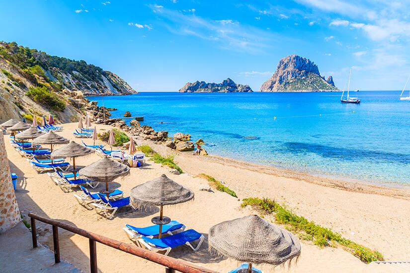 Cala d'Hort auf Ibiza