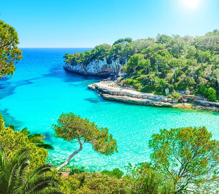 Ibiza Karte Umriss.Balearen Inseln Entdecken Mallorca Menorca Ibiza Co