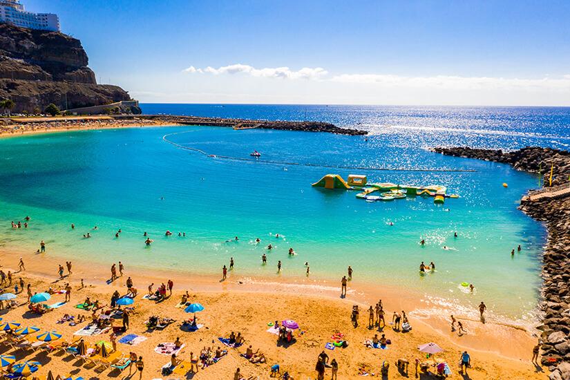 Amadores Beach auf Gran Canaria