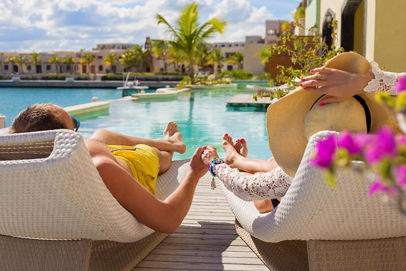 Urlaubshotel auswählen
