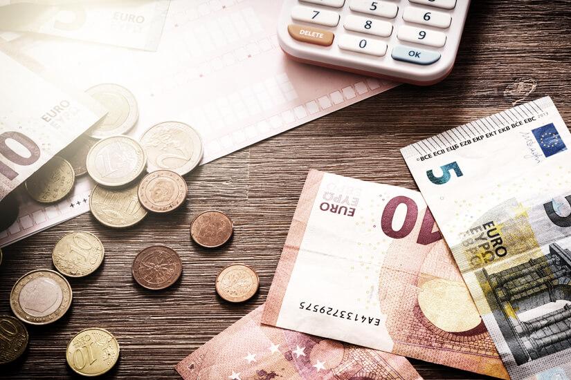 In Euro bezahlen