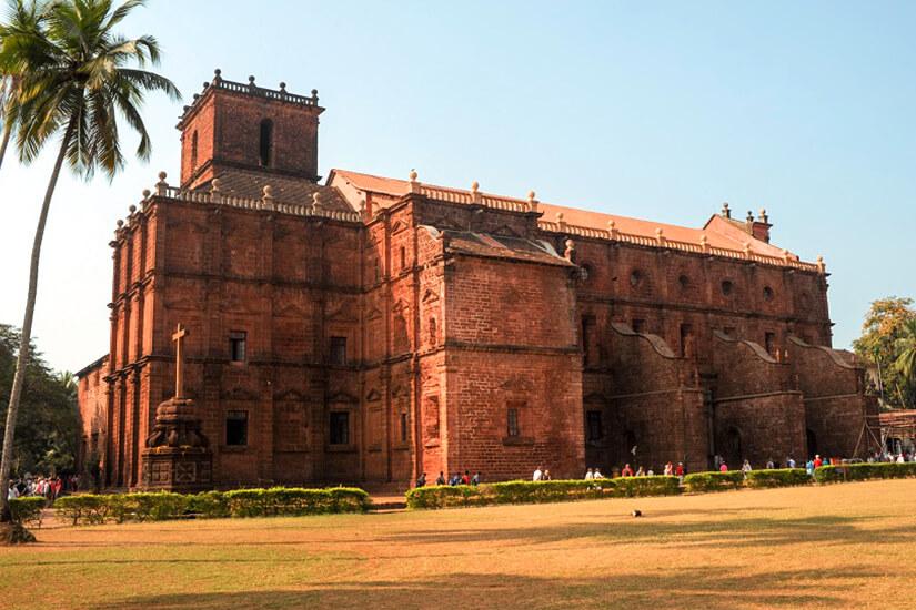 Basílica do Bom Jesus in Old Goa