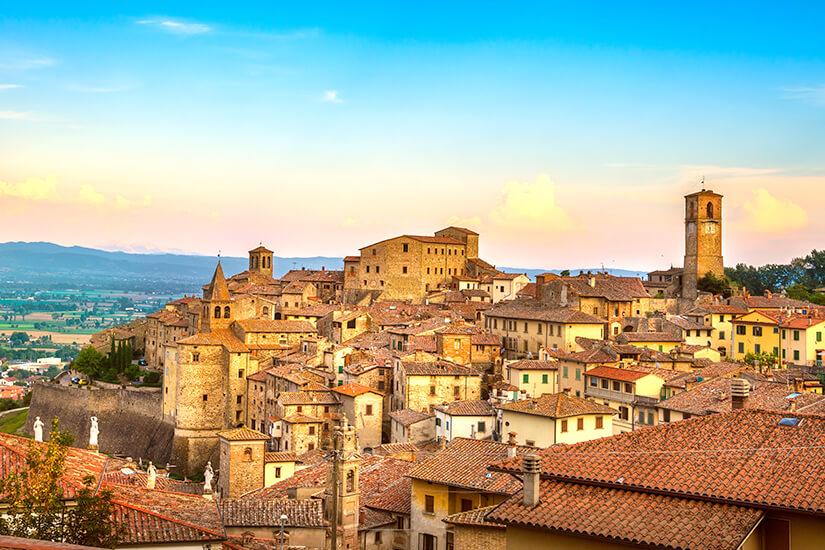 Das historische Arezzo