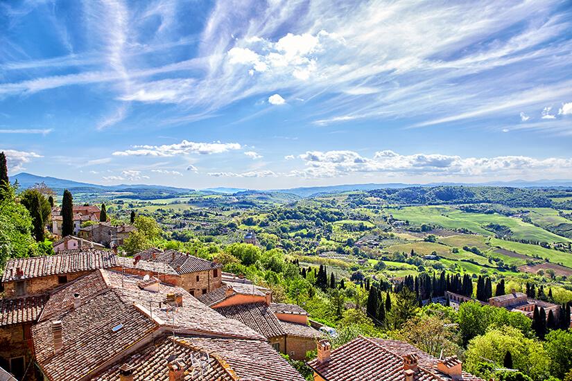Historisches Städtchen Montepulciano