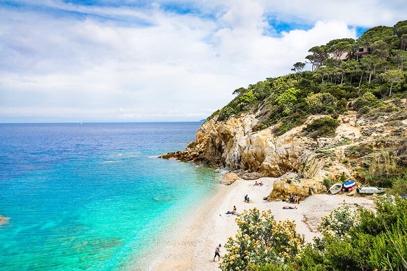 Insel Elba mit Traumstrand