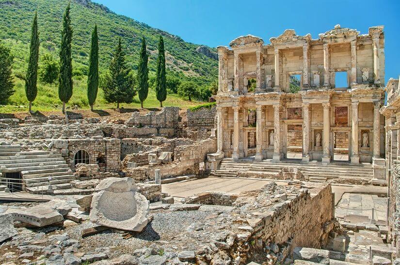 Ruinen in Ephesos