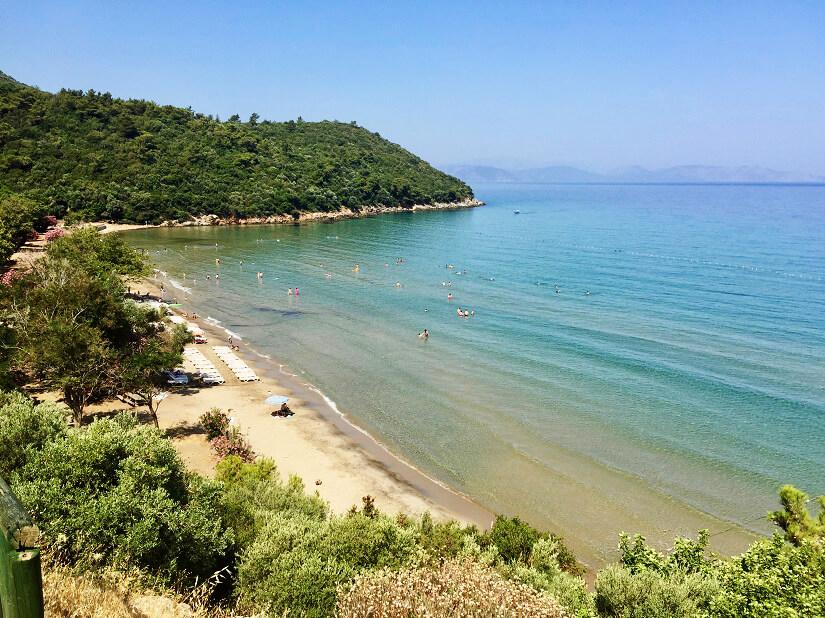 Strand im Dilek Nationalpark