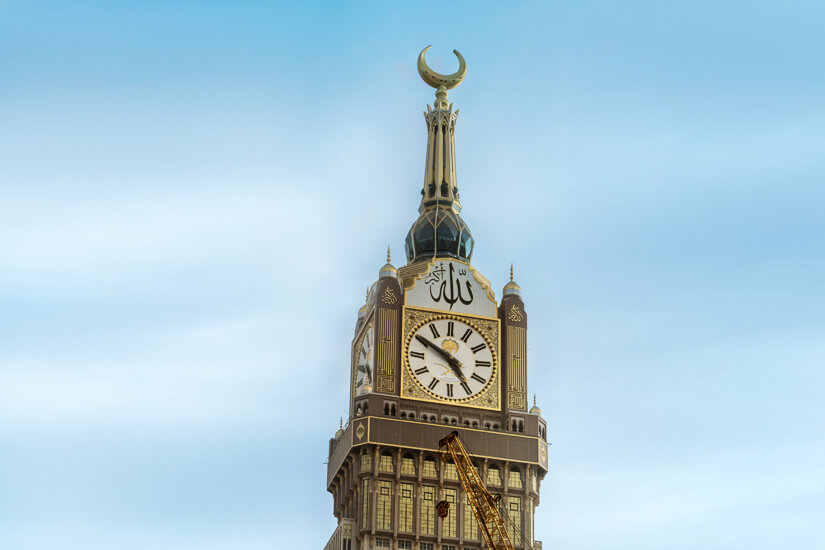 Mecca Clock Tower, Saudi Arabien