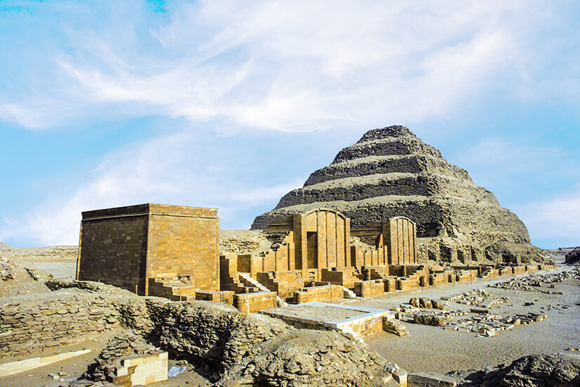 Djoser-Pyramide von Sakkara