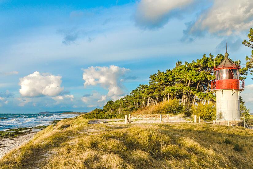 Leuchtturm Gellen auf Hiddensee