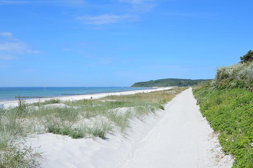 Herrlicher Strand auf Hiddensee