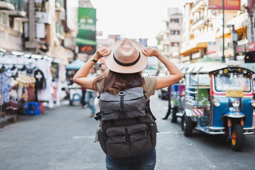 Als Frau allein durch Bangkok