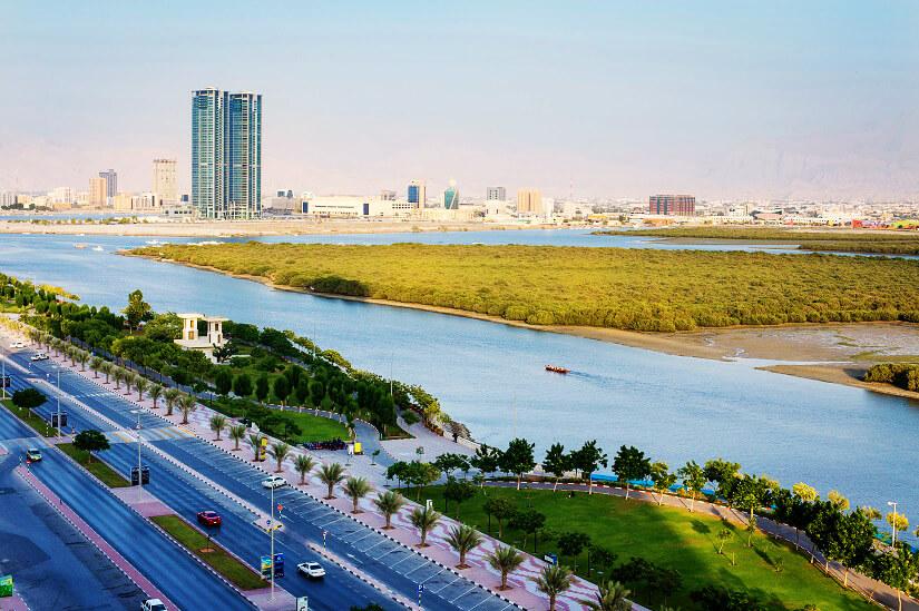 Al Qawasim Corniche in Ras Al Khaimah