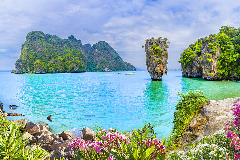 James Bond Island bei Phuket
