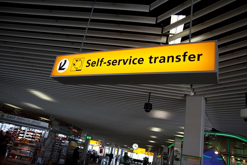 Flughafentransfer selbst organisieren