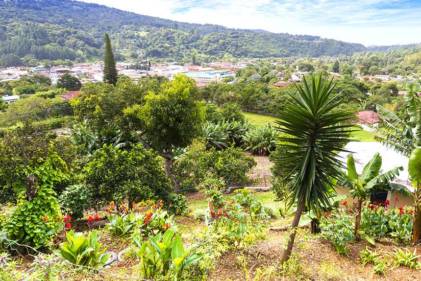 Bajo Boquete in der Provinz Chiriqui