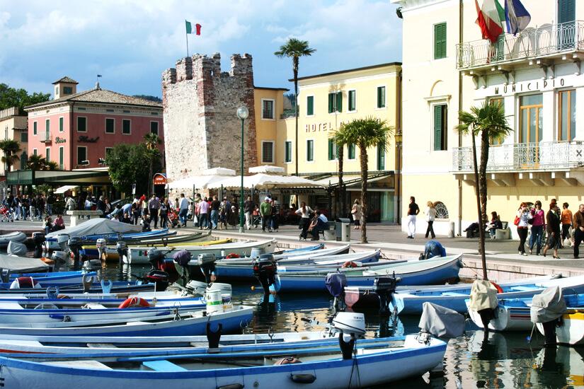Hafen von Bardolino