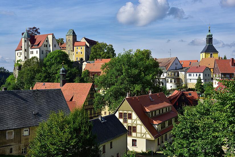Hohnstein in der Sächsischen Schweiz