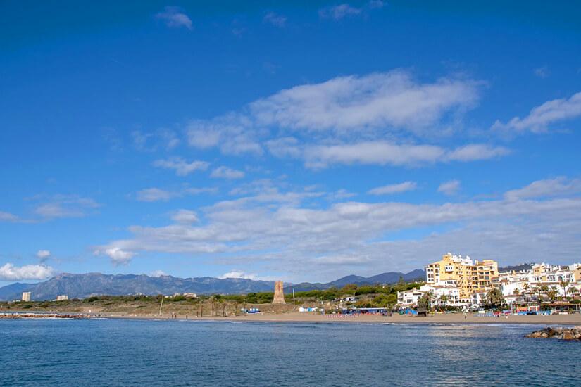 Die Playa Cabopino & Playa de Artola
