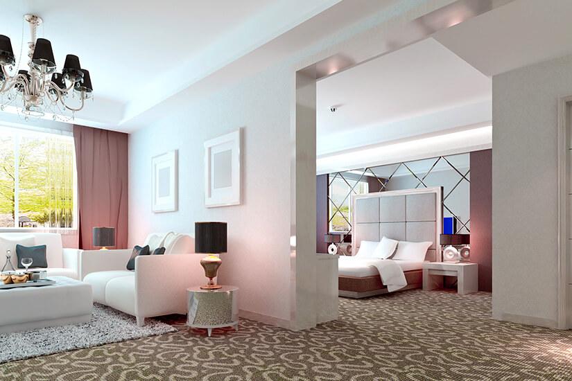 Luxuriöse Suite mit zwei Räumen