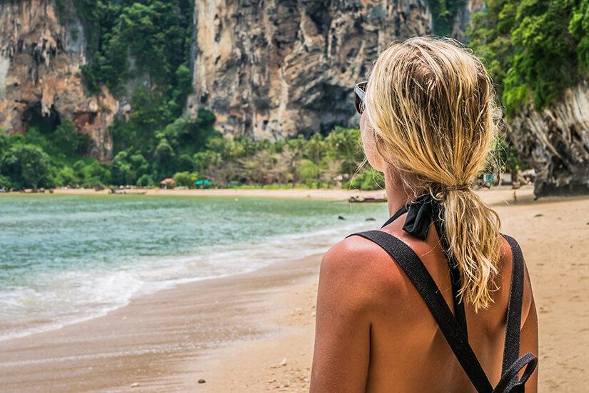 Ausblick am Strand von Raily