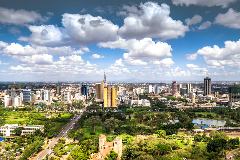 Nairobi, Hauptstadt von Kenia