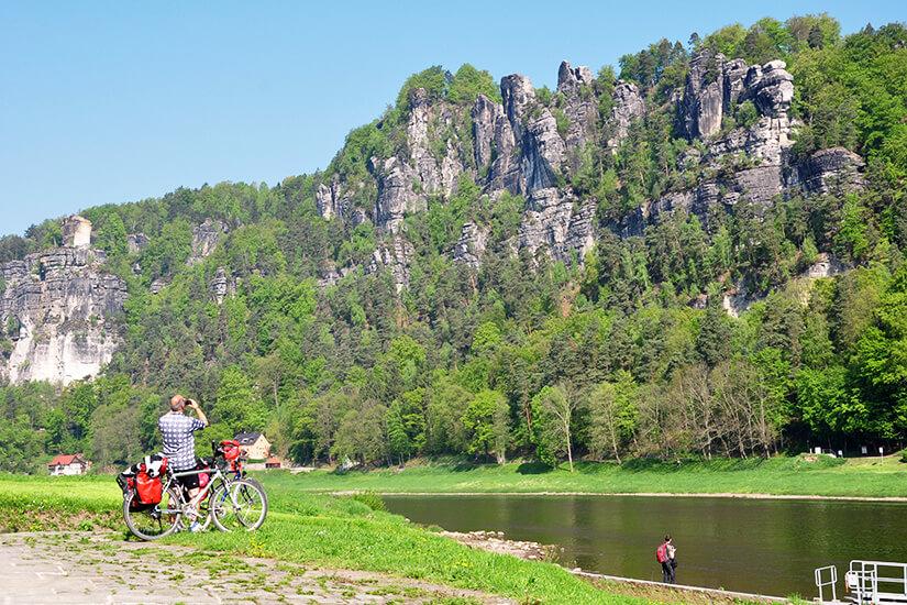 Radfahren in der Sächsischen Schweiz