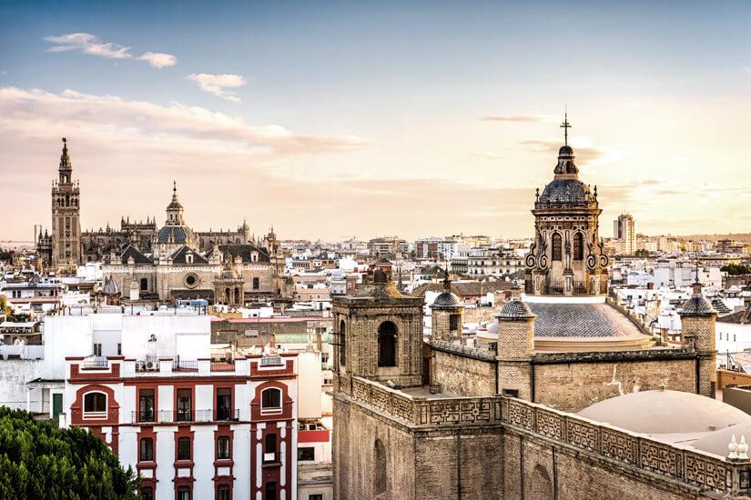 Skyline von Sevilla