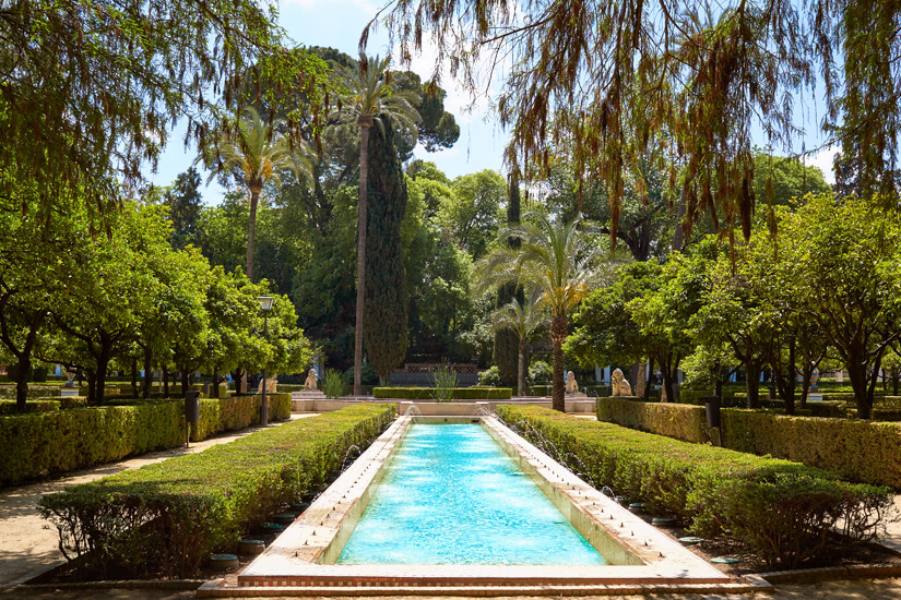 Maria Luisa Park in Sevilla