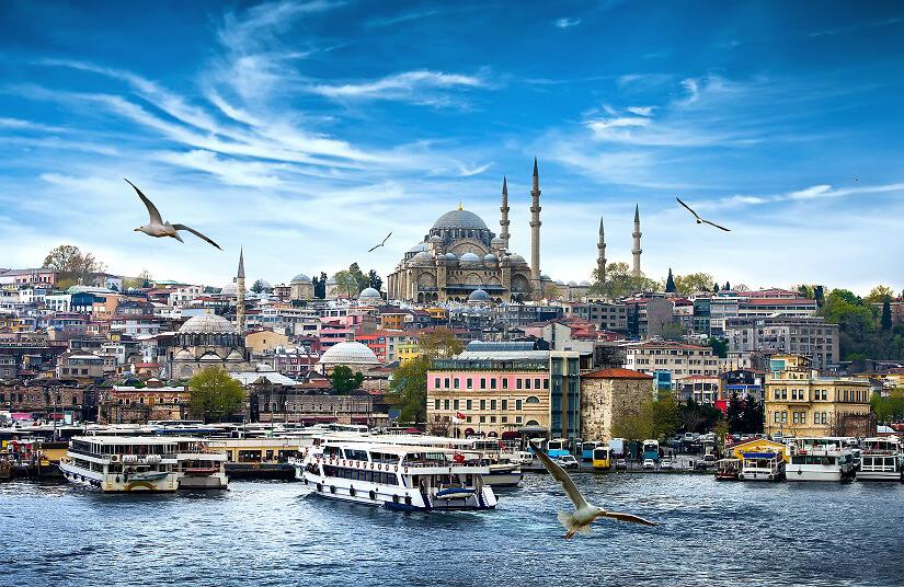 Fastenbrechen an der Blauen Moschee feiern