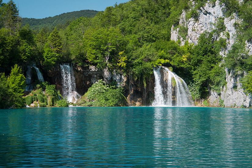 Türkisblauer See bei Plitvic