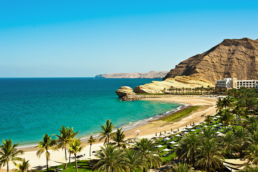 Küste von Oman