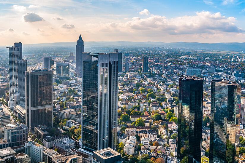 Finanzmetropole Frankfurt am Main