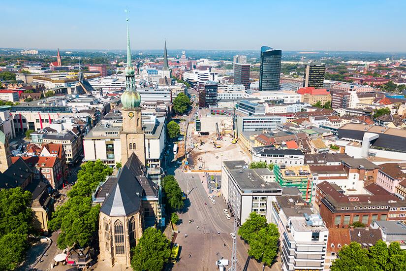 Stadtzentrum Dortmund