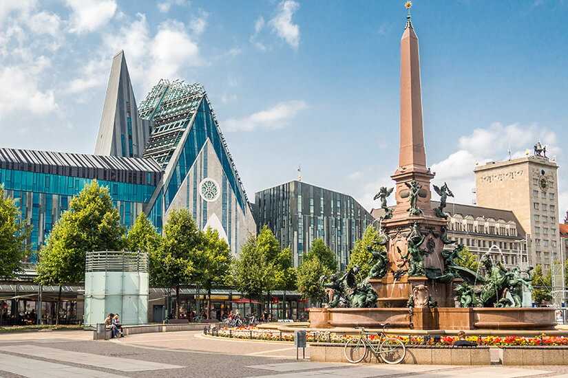 Bach-Stadt Leipzig