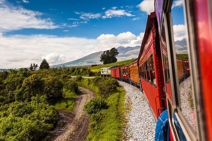 Entspannt reisen mit dem Zug