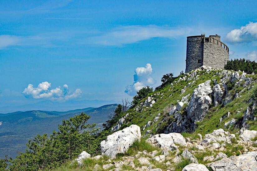Vojak Summit in Istrien