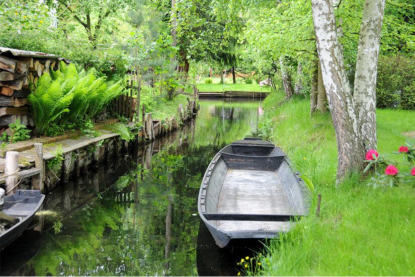 Kanal im Spreewald