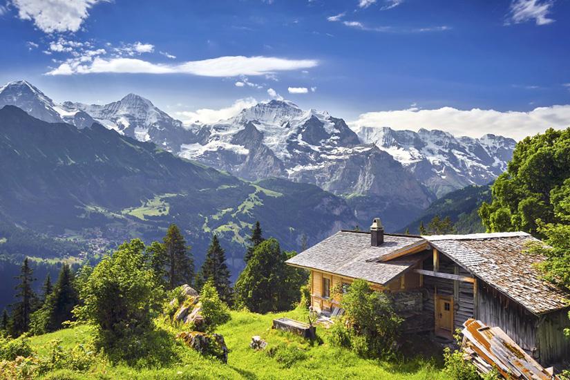 Nicht in der EU: Die Schweiz