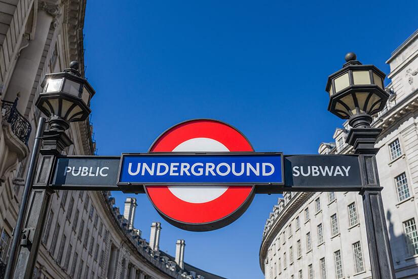Londoner U-Bahn-Station