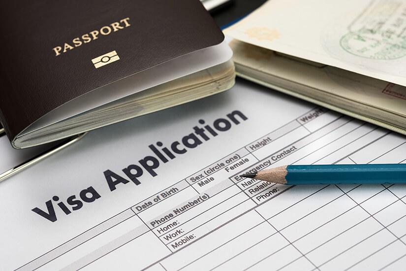 Visabeantragung