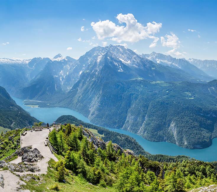 Schöner See In Bayern