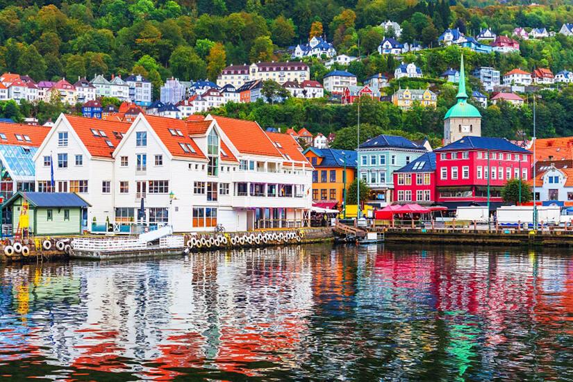 Der Hafen in Bergen