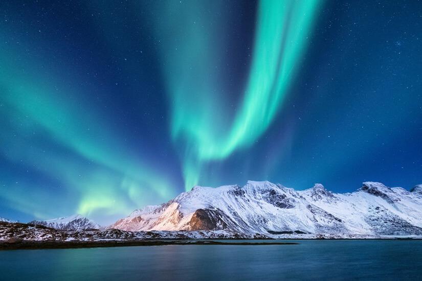 Polarlicht in Norwegen
