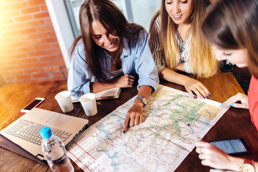 Reise gewissenhaft vorplanen