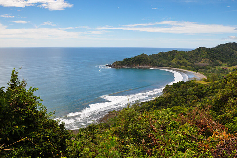 Nicoya Peninsula in Costa Rica
